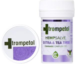 TROMPETOL Maść konopna EXTRA & TEA TREE - 30ml