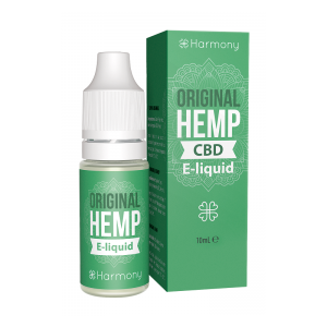 Liquid konopny do waporyzacji Harmony Original Hemp CBD 100mg (10%), 10 ml